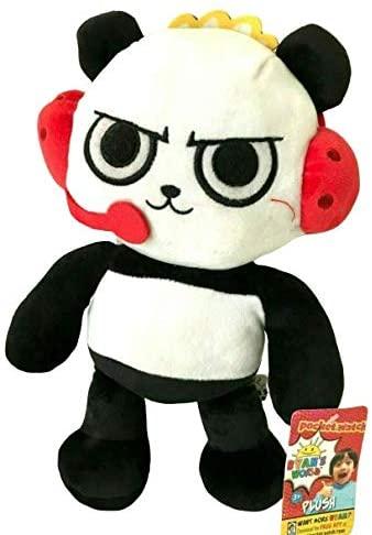Ryan's World Ryan Small Plush Figure Red Titan Combo Panda Moe Monster Gus Gator Toy Gift (Combo Panda)