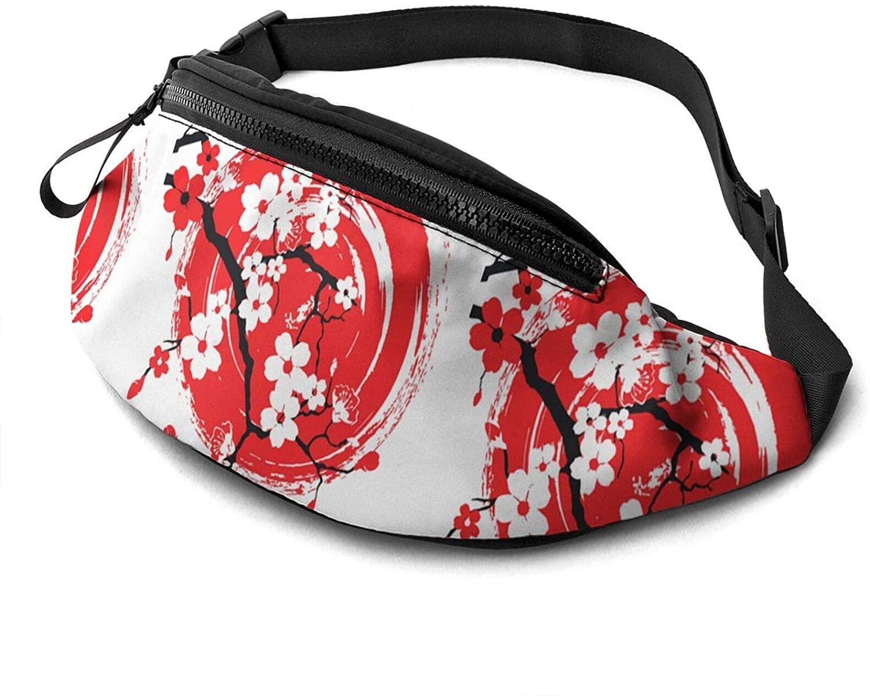 Sakura Art Fanny Pack Fashion Waist Bag