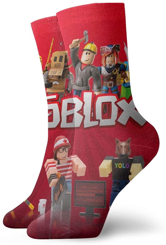Ro-Bl-Ox Socks, 3d Print Socks Football Compressed Socks Non-Slip Sport Socks For Running