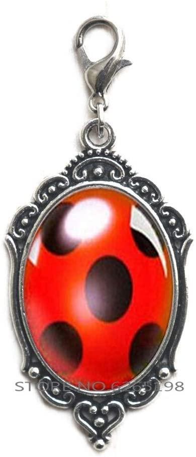 Ladybug Charm Ladybug Zipper Pull Ladybird Design Bug Lobster Clasp Ladybird Zipper Pull,Bug Handmade Ladybird Jewellery Ladybug,N399