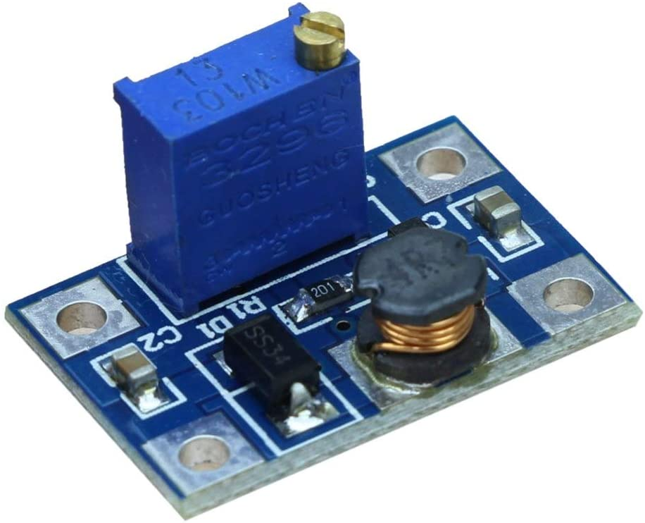 Stayhome DC-DC SX1308 Step-UP Adjustable Power Module Step Up Boost Converter 2-24V to 2-28V 2A