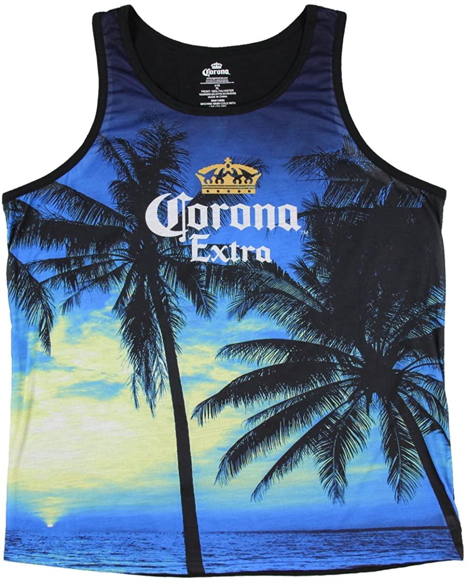 Corona Extra Beer Graphic Tank Top