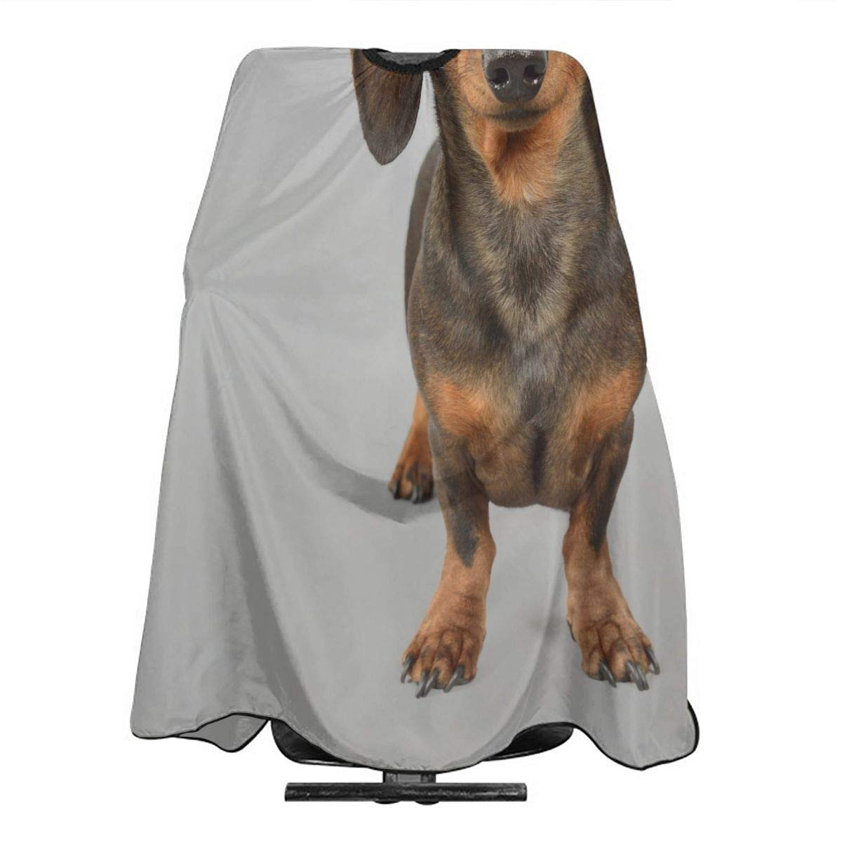 Barber Cape Cute Dachshund Puppy Fun Dog Professional Salon Hair Cutting Capes For Hair Stylist Waterproof Haircut Hairdressing Clients Hairstylist Capes For Adult Men Women Kids