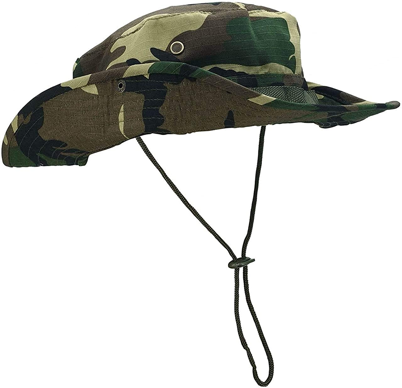Fishing Hat Sun Protection Wide Brim Bucket Hat Breathable Boonie Hat