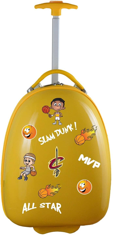 Denco NBA Cleveland Cavaliers Kids Lil' Adventurer Luggage Pod