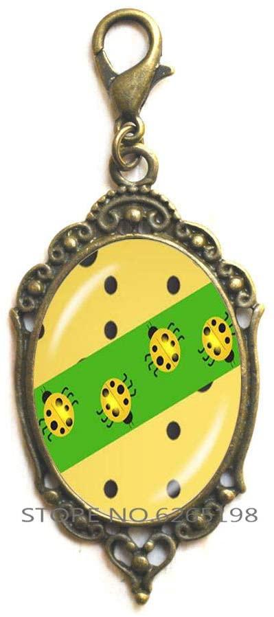 Ladybird Zipper Pull,Charm Zipper Pull, Ladybug Zipper Pull, Ladybird Gifts Jewellery, Ladybird Gift, Ladybird Jewelry,Insect Zipper Pull,N089