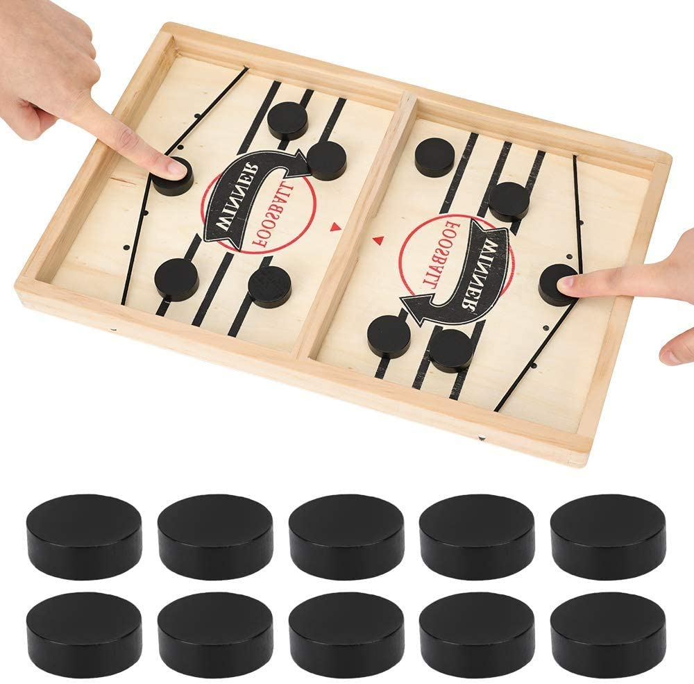 Fast Sling Puck Game Paced, Table Desktop Battle,Winner Board Games Toys for Adults Parent-Child Interactive Chess Toy Board Table Game