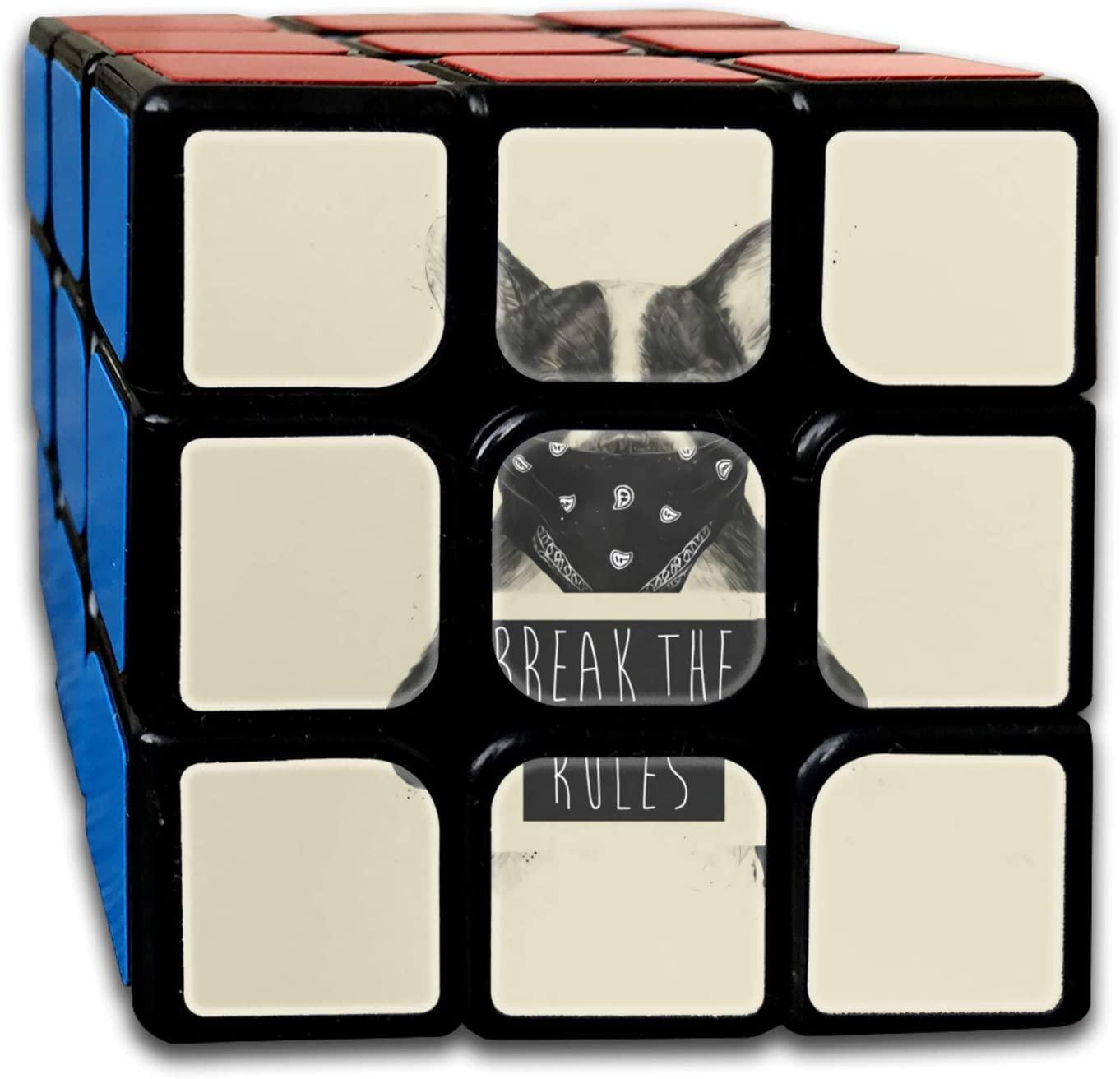 Rebel Dog Rubiks Cube One Size