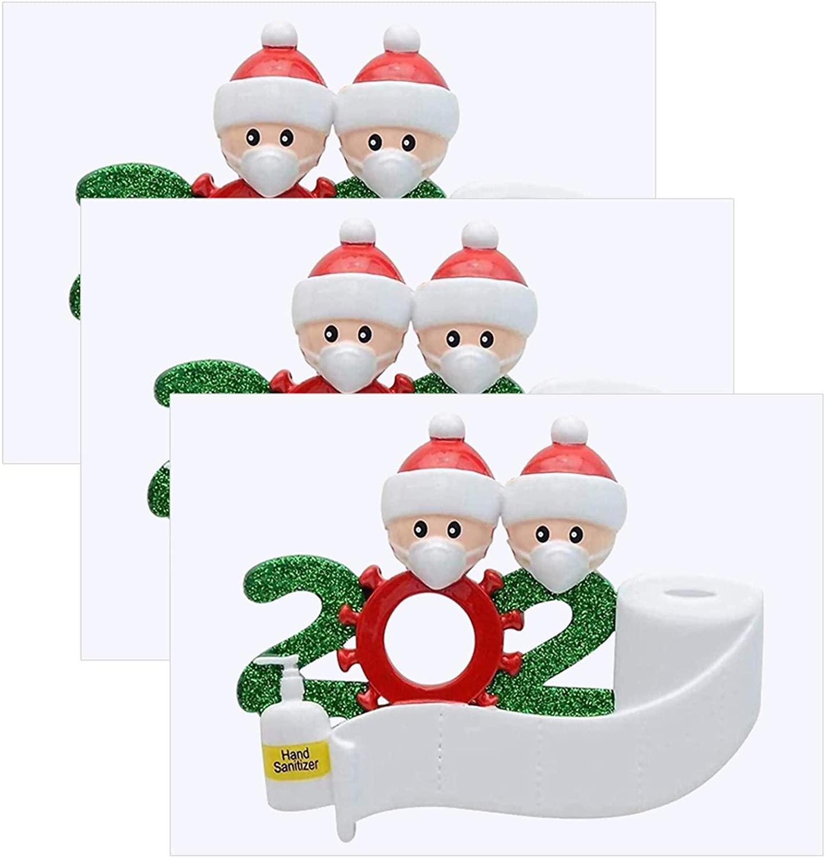 5PC Christmas Vinyl Heat Transfer Iron On DIY Garment Film Silhouette Paper Art Theme Clothes with Santa Decorations (3PC)