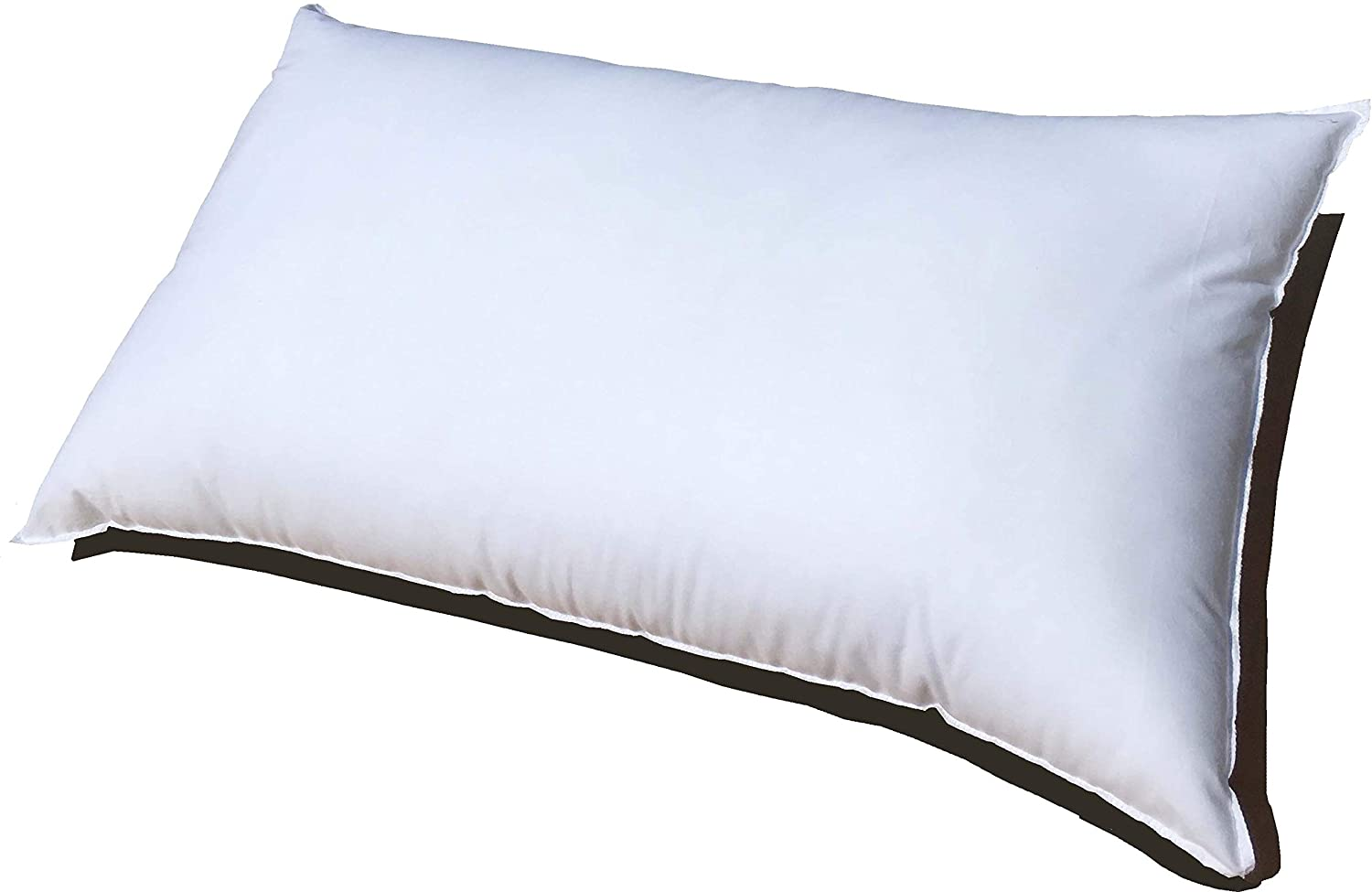 Pillowflex 16x20 Inch Premium Polyester Filled Pillow Form Insert - Machine Washable - Oblong Rectangle - Made in USA