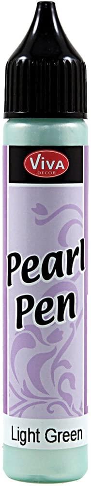 Viva Decor 25ml Pearl Pen, Light Green