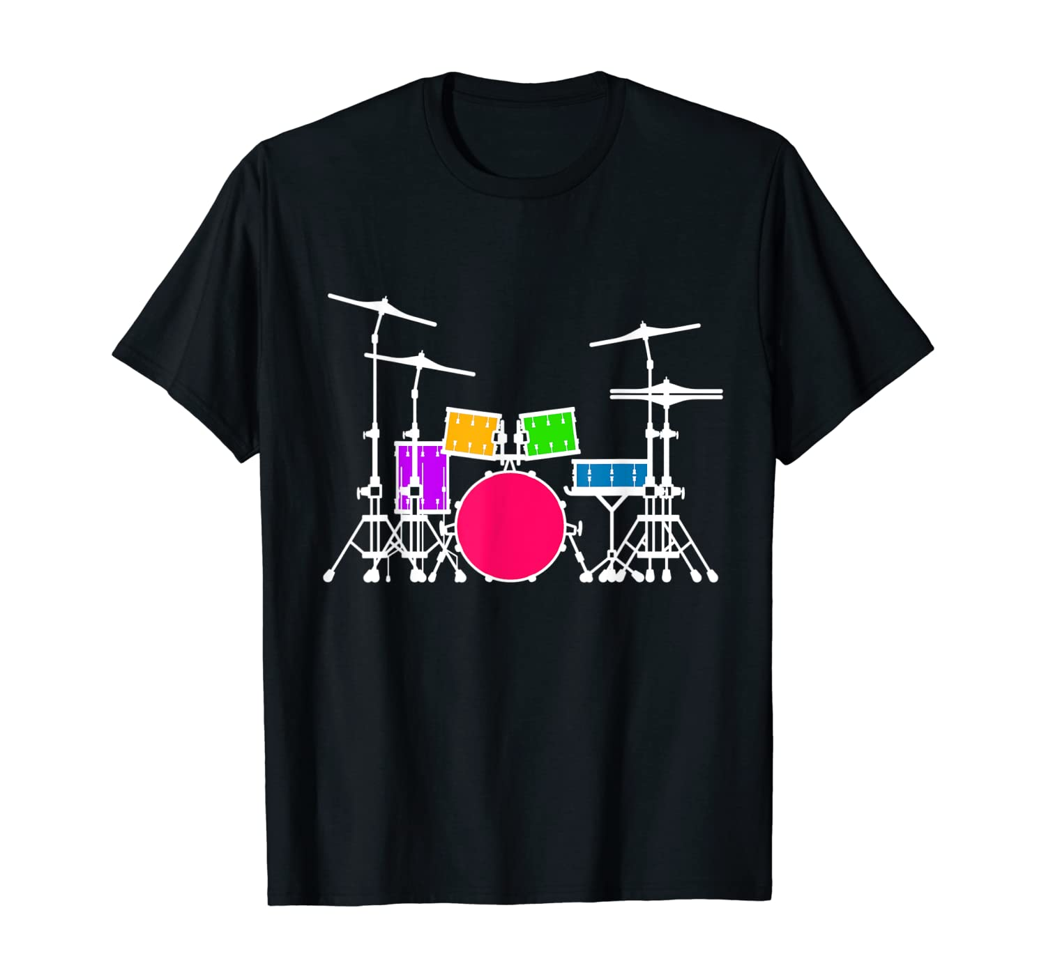 Drummers T shirt, Percussionist Gift vintage drums for men T-Shirt