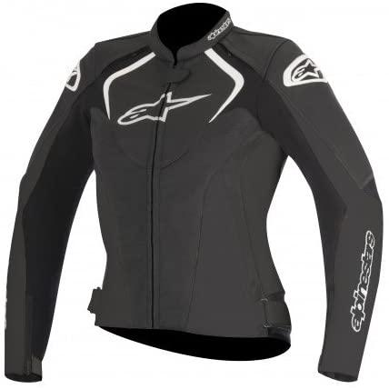 Alpinestars Jaws Women's Street Motorcycle Jackets - Black / 40