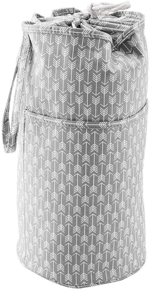 Yarn Storage Bag Knitting Bag Yarn Storage Organizer for Knitting Tools Accessories(cylindrical bag)