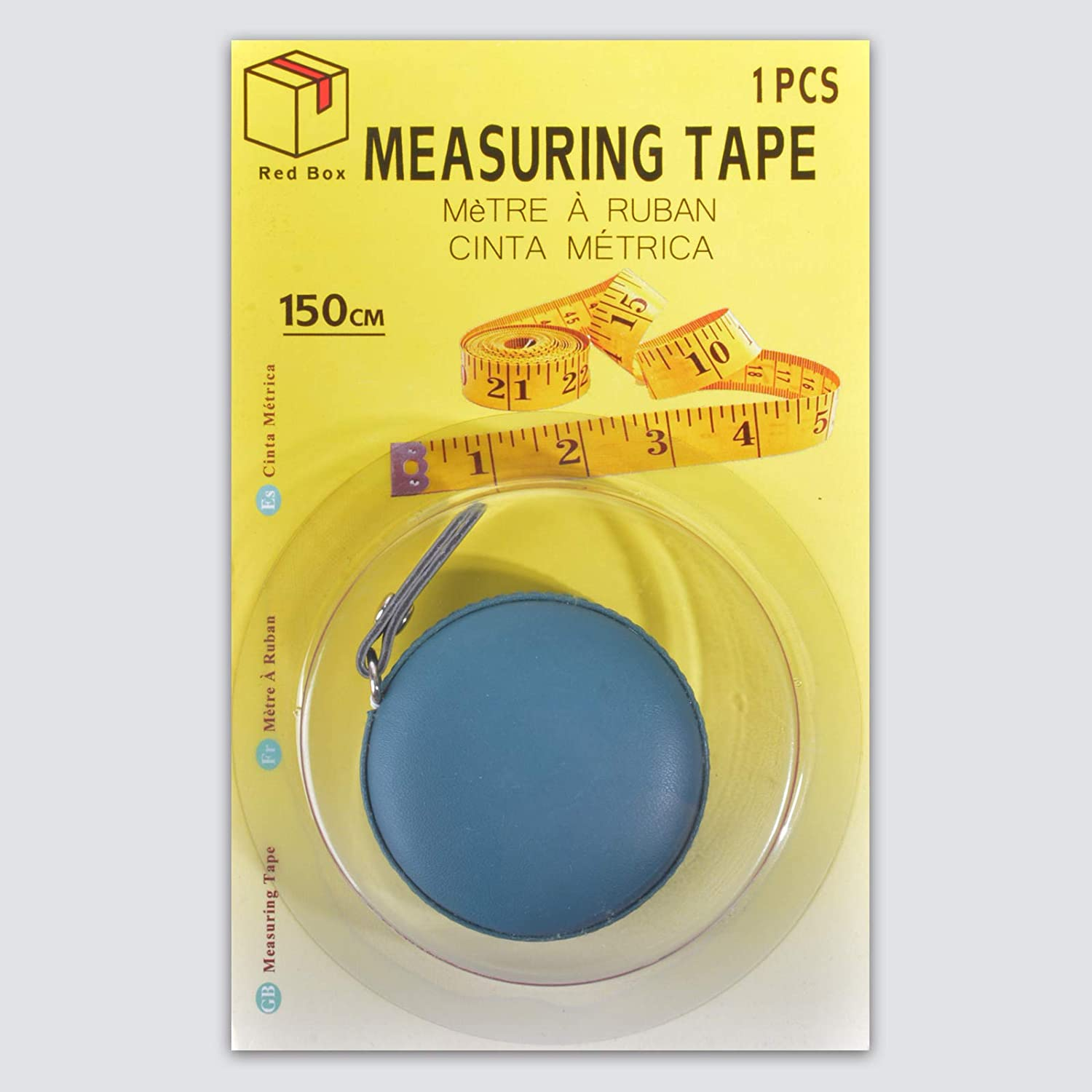 Measuring Tape, for Body Measuring & Fabric Sewing Tailor Measuring Soft Tape, Dual Sided, 150cm(60 inches) (Aqua Blue)