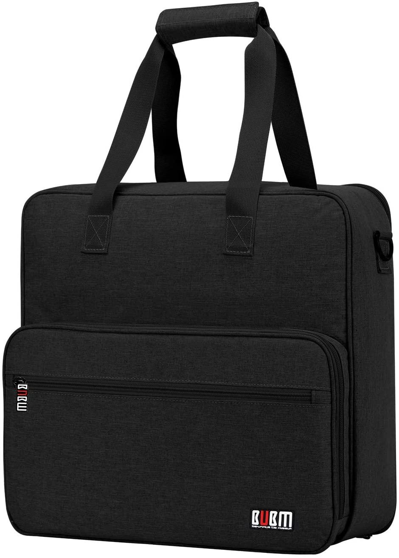 BUBM Carrying Case for Cricut Easy Press - Carrying Bag Compatible with Cricut Easy Press(6 x 7 inches), Tote Bag Cricut Accessories(Black)