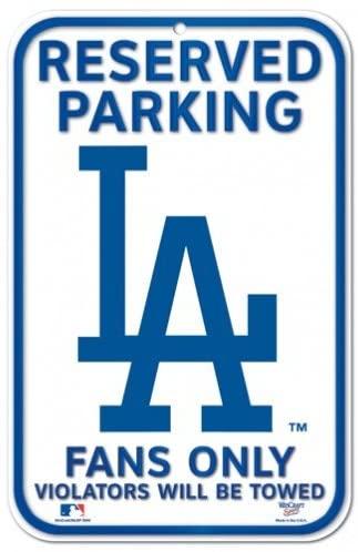 Fremont Die Fan Shop Baseball Team Parking Sign - Man Cave and Bar