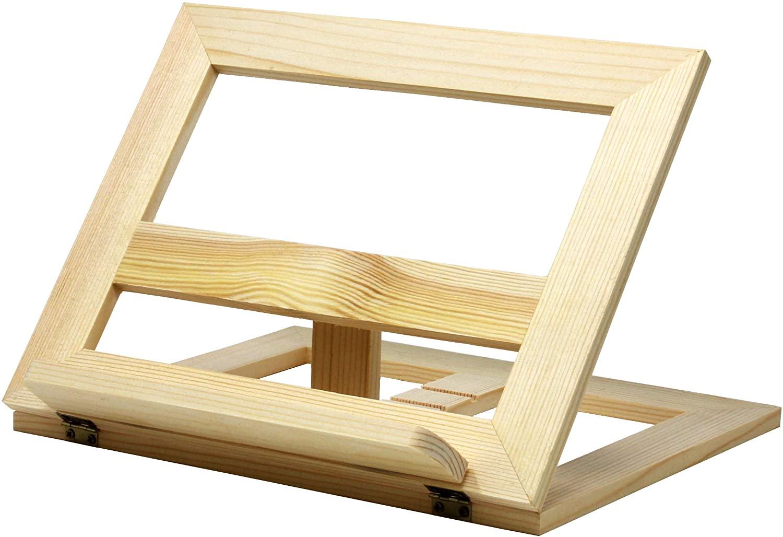 VViViD Adjustable Wooden Folding Artist Stand Easel (1 Piece)