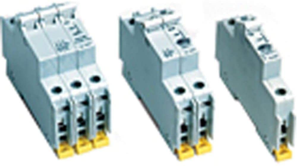 Circuit Breaker; Hyd/Mag; Togl; Cur-Rtg 15A; DIN Rail; 1 Pole; Vl-Rtg 277/480V; UL 1077, Pack of 2