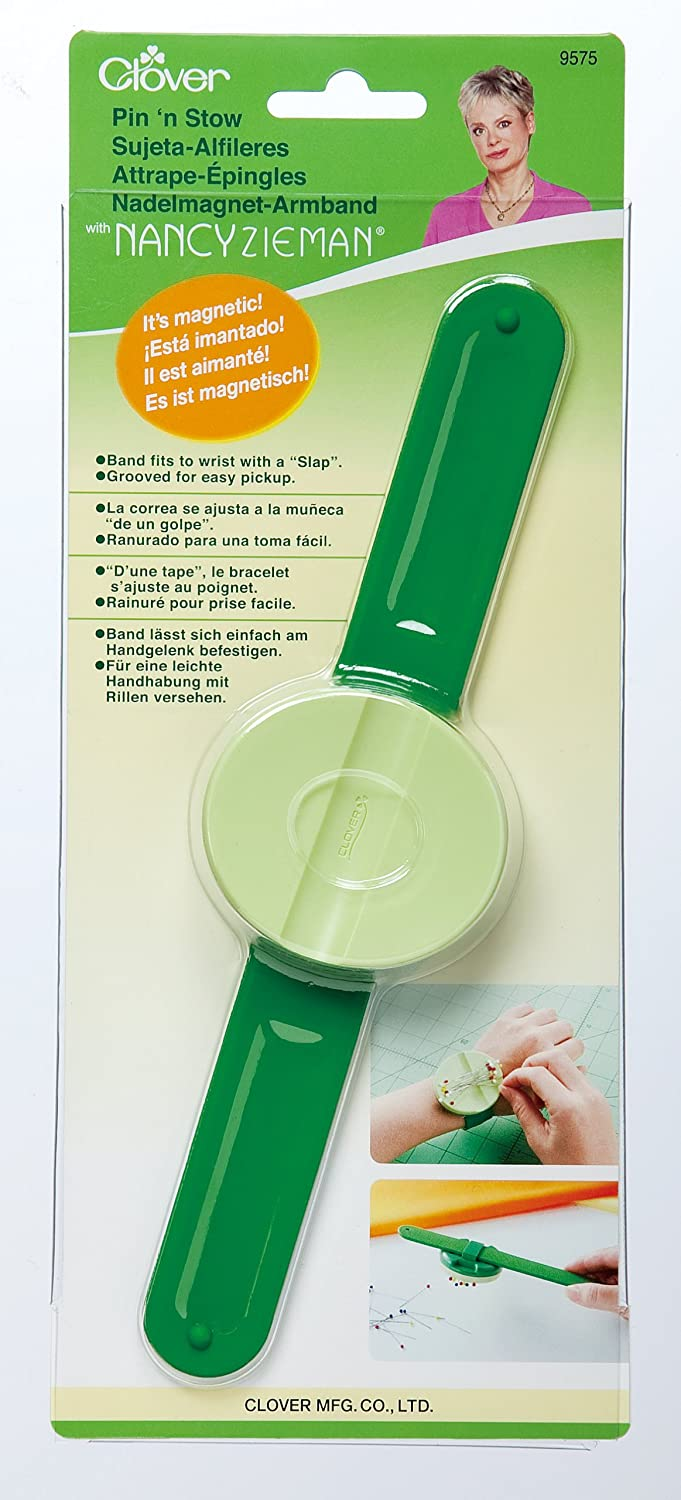 CLOVER 9575 Pin n Stow Magnetic Wrist Pin Caddy