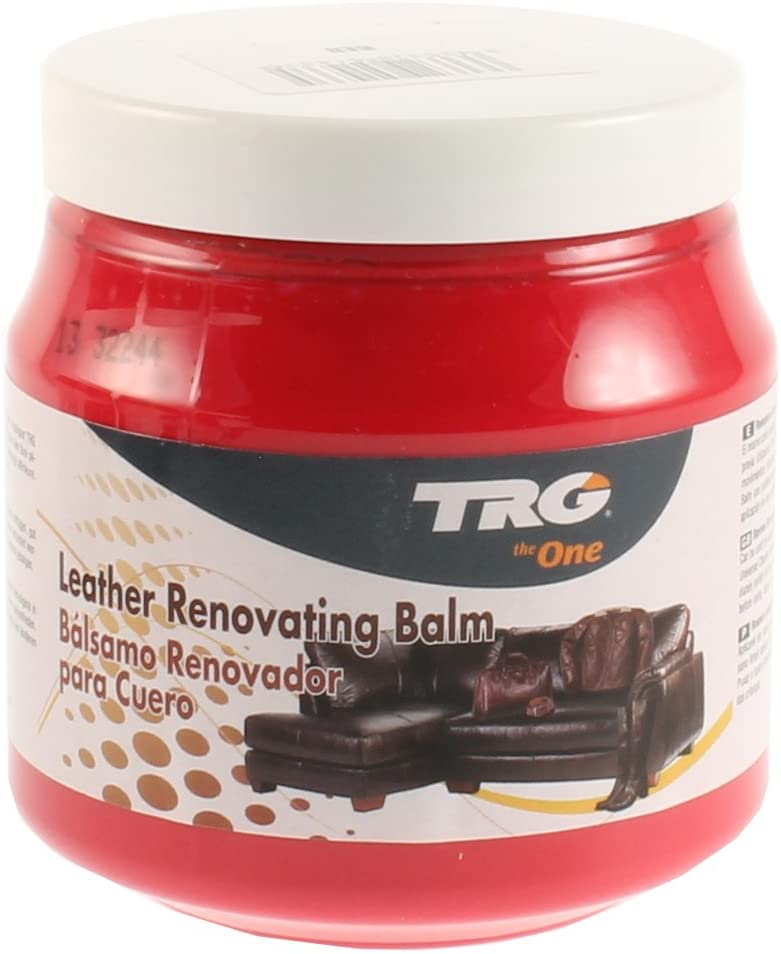 Leather Renovating Balm 300ml for All Leather Materials, Sofas, Car Seats, Leather Furniture, 300 ml - 10.14 fl. Oz. (Red)
