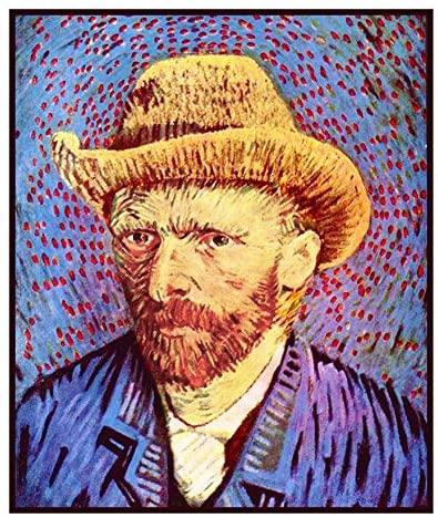 Orenco Originals Self Portrait by Vincent Van Gogh Counted Cross Stitch Pattern