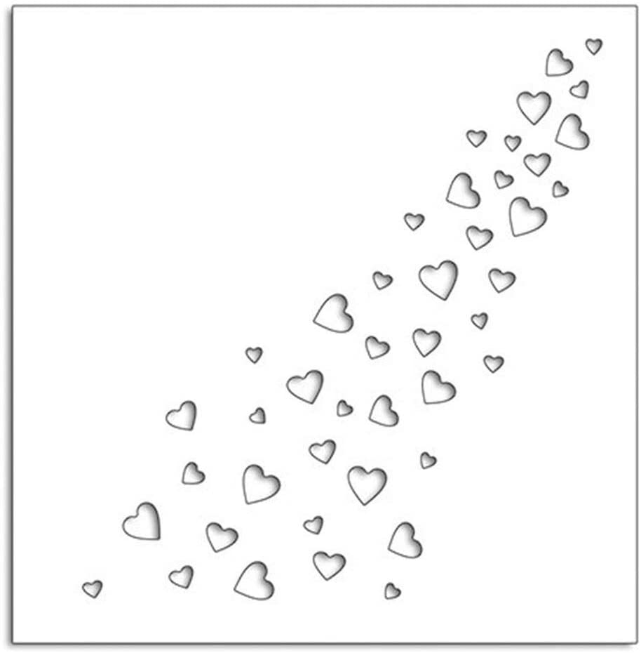 Heart Galore Cutting Dies Stencil Metal Template Moulds Embossing Tool for Card Making Scrapbooking DIY Album Paper