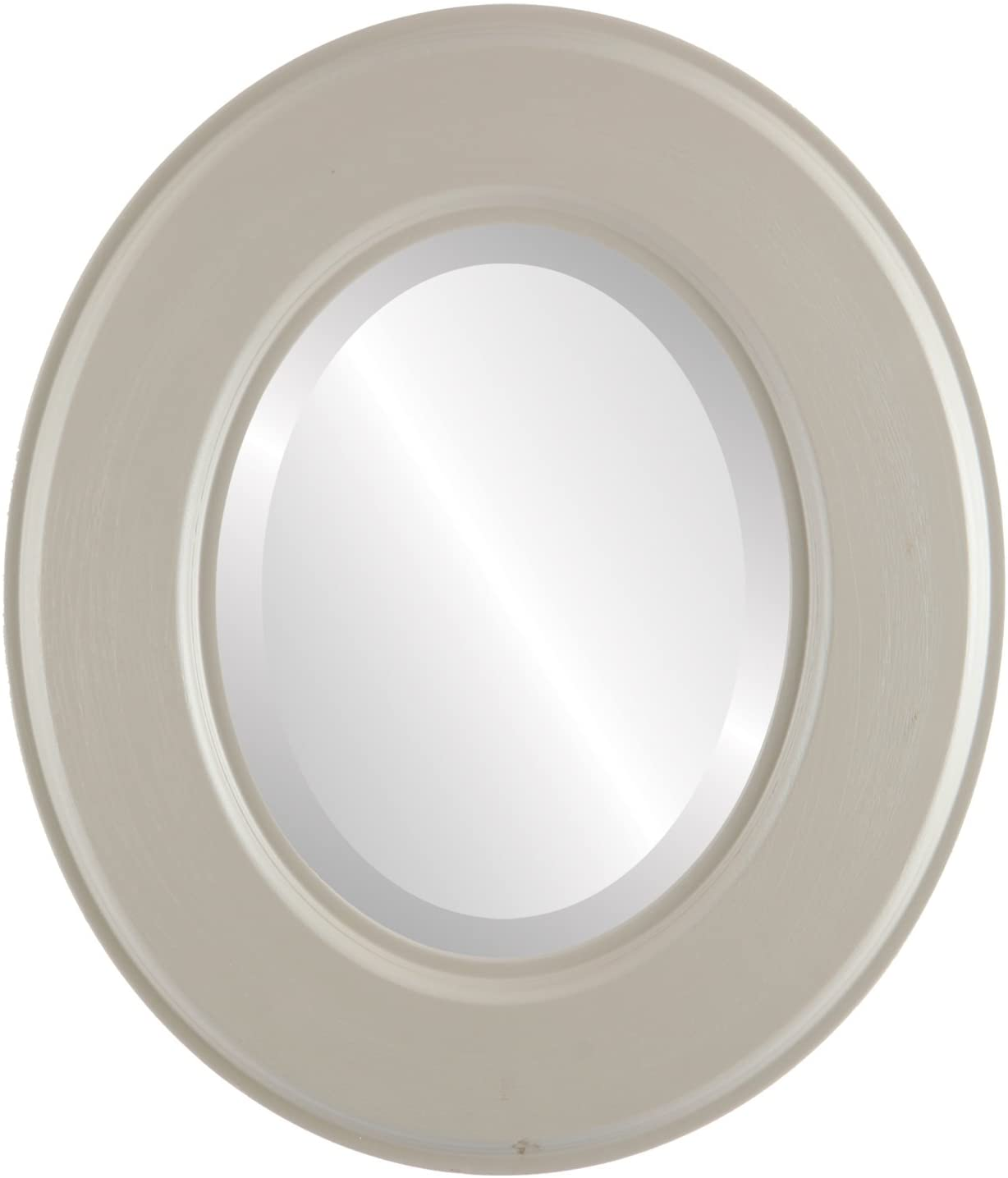 Oval Beveled Wall Mirror for Home Decor - Marquis Style - Indian River - 28x32 Outside Dimensions