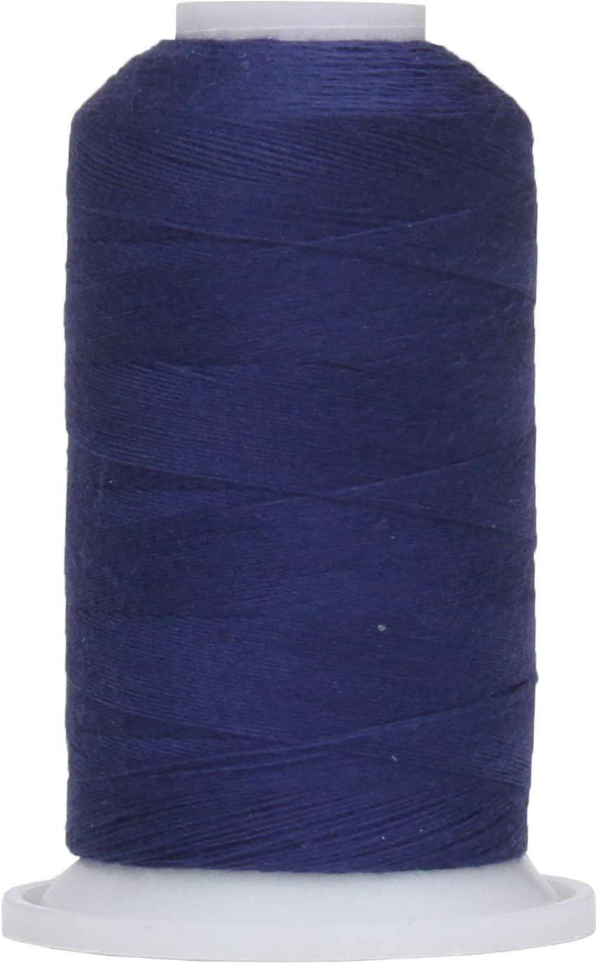 Threadart Polyester All-Purpose Sewing Thread - 600m - 50S/3 - Navy
