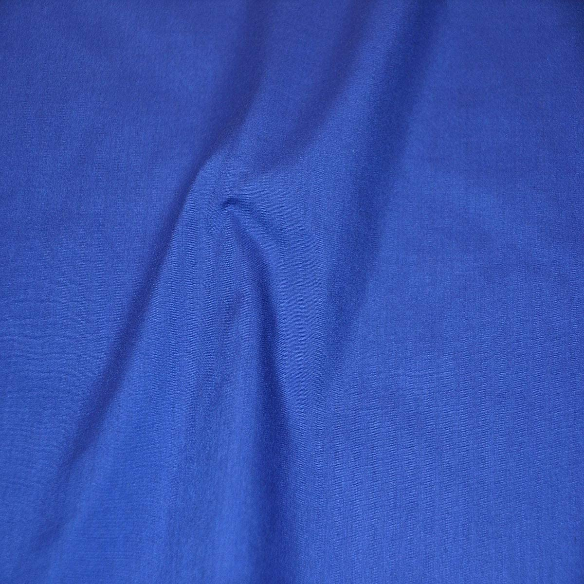 AK TRADING CO. 60 Wide Premium Cotton Blend Broadcloth Fabric by The Yard - Royal Blue