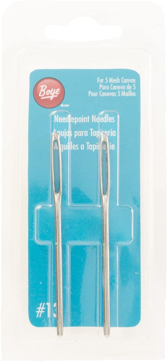 Needlepoint Hand Needles-Size 13 2/Pkg