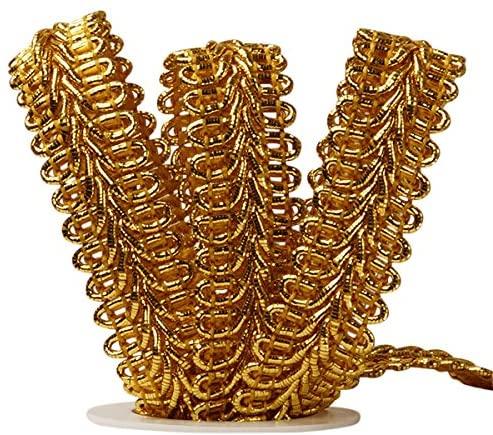 Paper Mart Gimp Braid Trim | Gold | 5/8