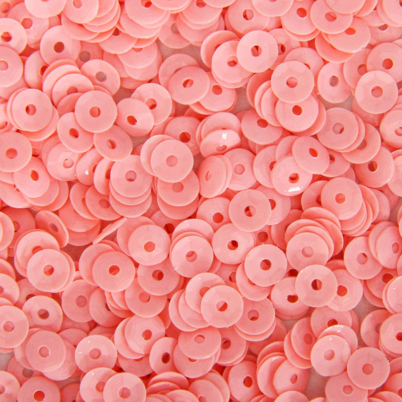 Loose Cup Pastel Sequins - 4mm - Pink - 5 Gross (720 pcs/pk)