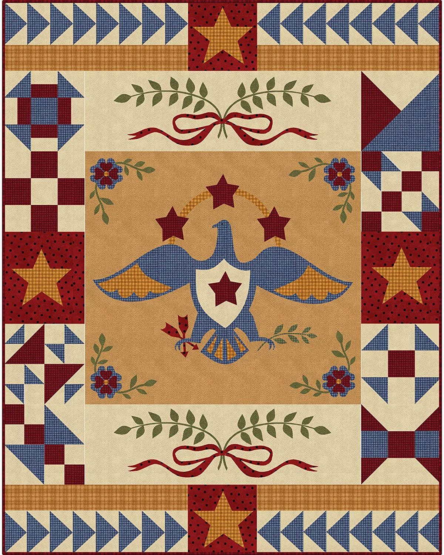 Bonnie Sullivan Woolies Flannel Sweet Liberty Quilt Kit Maywood Studio