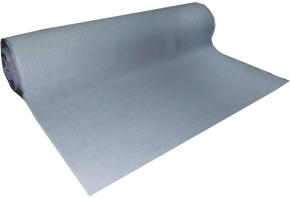 Automotive Roof Upholstery Headliner Fabric Craft Foam Backing Gray 48 x 60