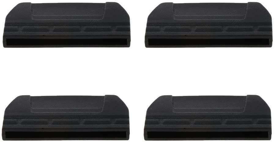 Baoblaze 4pcs Durable Plastic End Clips Buckles Fits 0.79/1/1.18/1.5 Webbing Strap Belt - 38mm