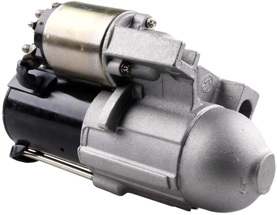 SCITOO Starters SDR0189 8000058 6491N fit for C-hevrolet Cavalier 2002 S10 Pickup 2002-2003 2.2L L-umina 2001 Malibu 2001-2003 3.1L Equinox 2005 Impala/Monte Carlo/Venture 2001-2005 3.4L