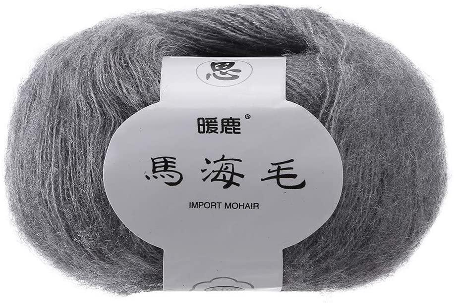 Beauty&favor Soft Wool Yarn Perfect for DIY DIY Shawl Scarf Crochet Kits Supplies (G)