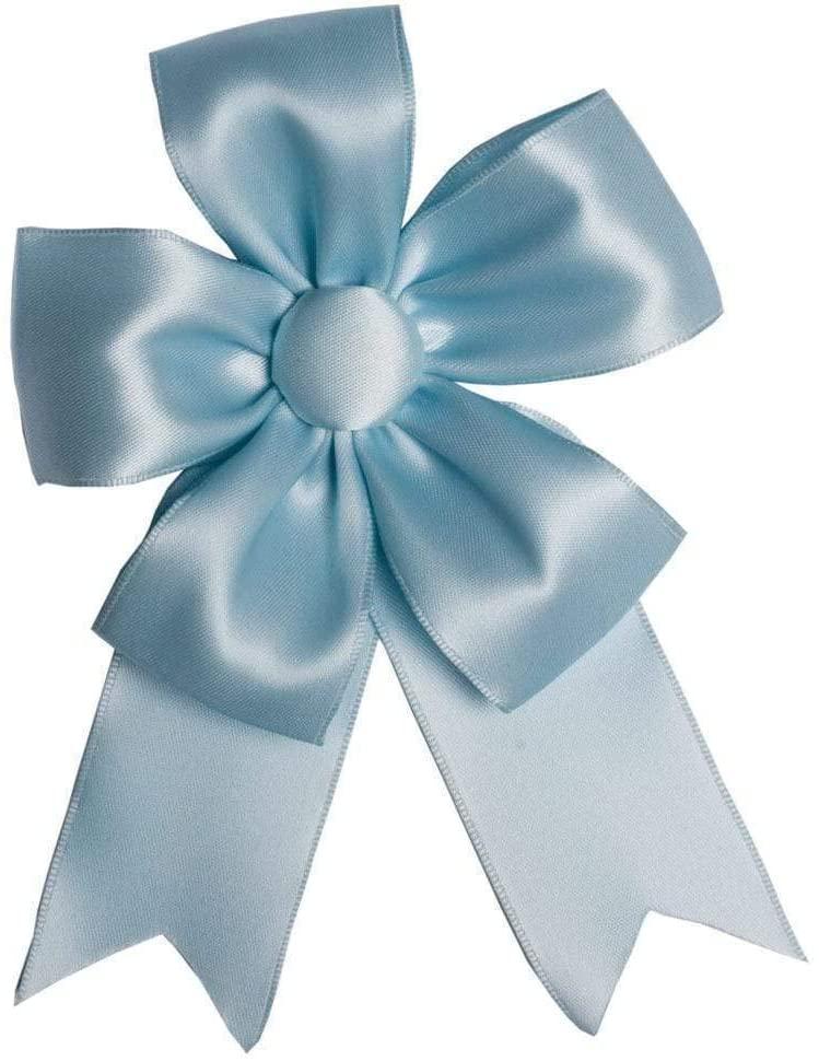 Caspari Solid Ribbon Bow in Light Blue - 2 Count