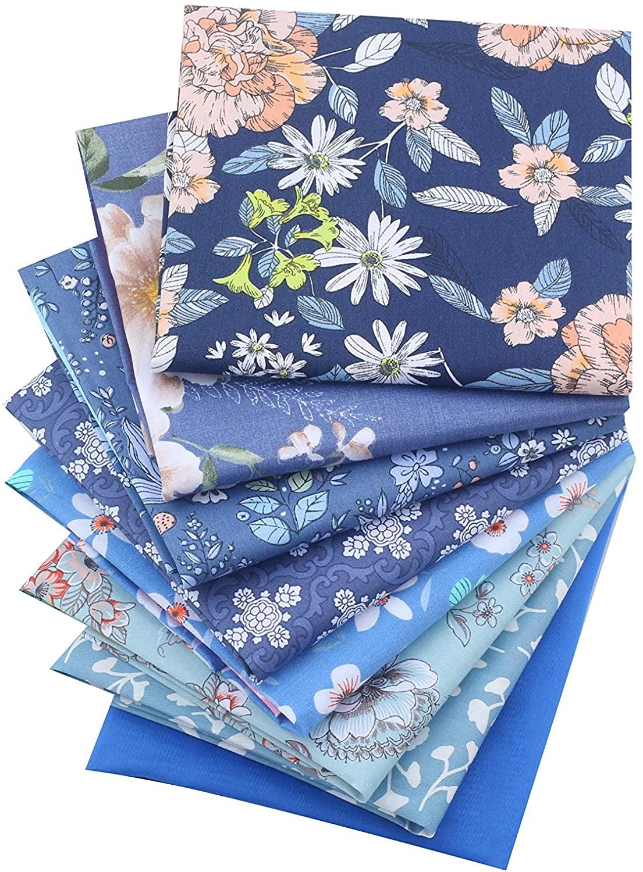 Quilting Fat Quarters Fabric Bundle - 8 Pieces 18