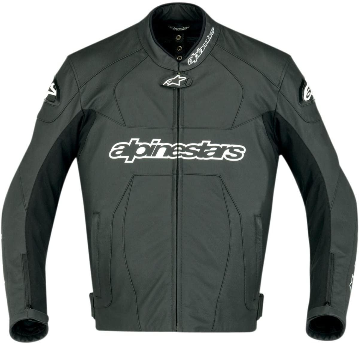 Alpinestars GP Plus Leather Jacket 2011 Black US 46 EU 56