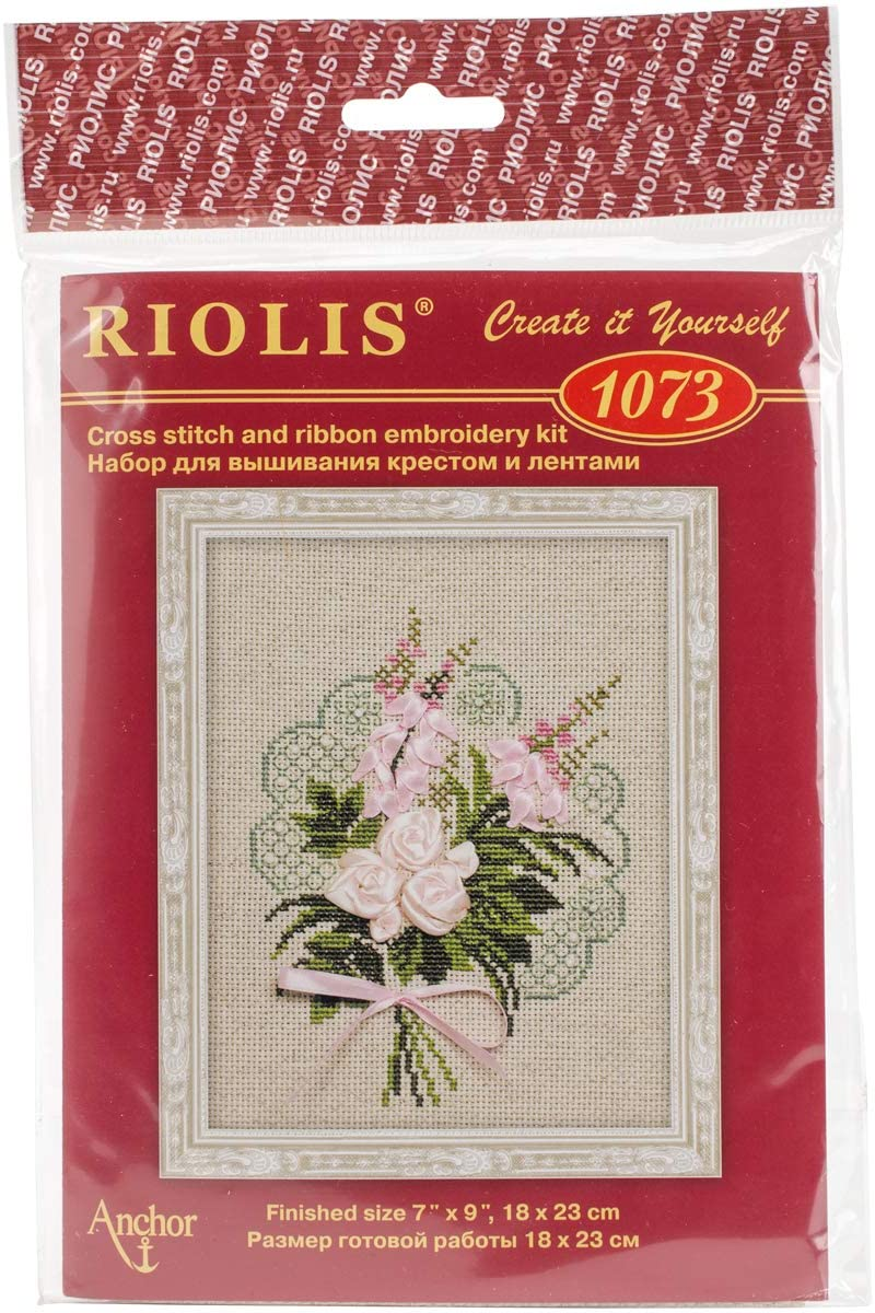 RIOLIS Bouquet of Tenderness - Counted Cross Stitch Kit, 7