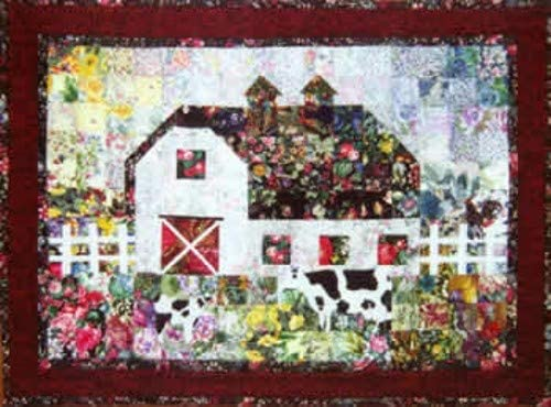 Whims At The Farm Watercolor Quilt Kit - Quilt Supplies