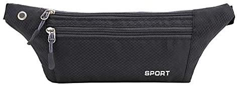 Premium Water Proof Running Belt Waist Pack, Lightweight Fanny Pack, Water Resistant Runner Waist Bag, Adjustable Running Pouch for Gym Workouts, Travel & Outdoor Activities (5 Colors)