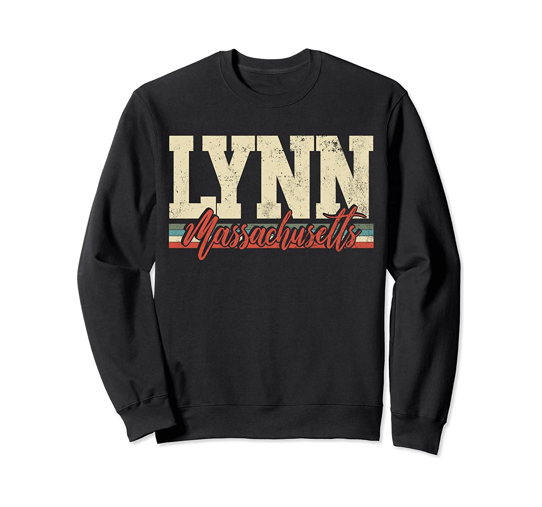 Lynn Massachusetts Retro Vintage Sweatshirt