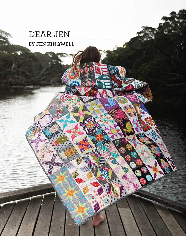 Dear Jen Quilt Pattern Booklet by Jen Kingwell