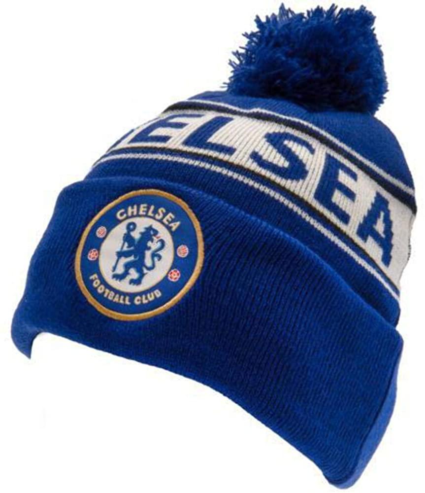 Chelsea FC Official Adults Unisex TX Ski Hat