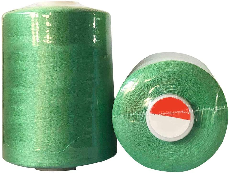 ChezMax 2 Pack All Purpose Sewing Thread Cones 8500 Yards of High Tensile Polyester Thread Spools for Hand Machine Sewing Quilting Overlock and Hand Embroidery