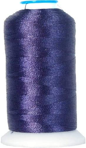 Threadart Polyester Machine Embroidery Thread By the Spool - No. 234 - Navy - 1000M - 40wt - 220 Colors Available