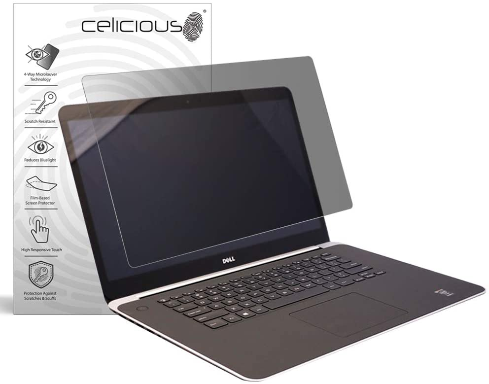 Celicious Privacy Plus 4-Way Anti-Spy Filter Screen Protector Film Compatible with Dell XPS 15 9530 (Touch)